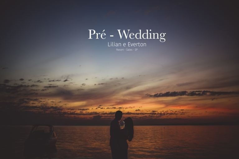 Pré Wedding Capa